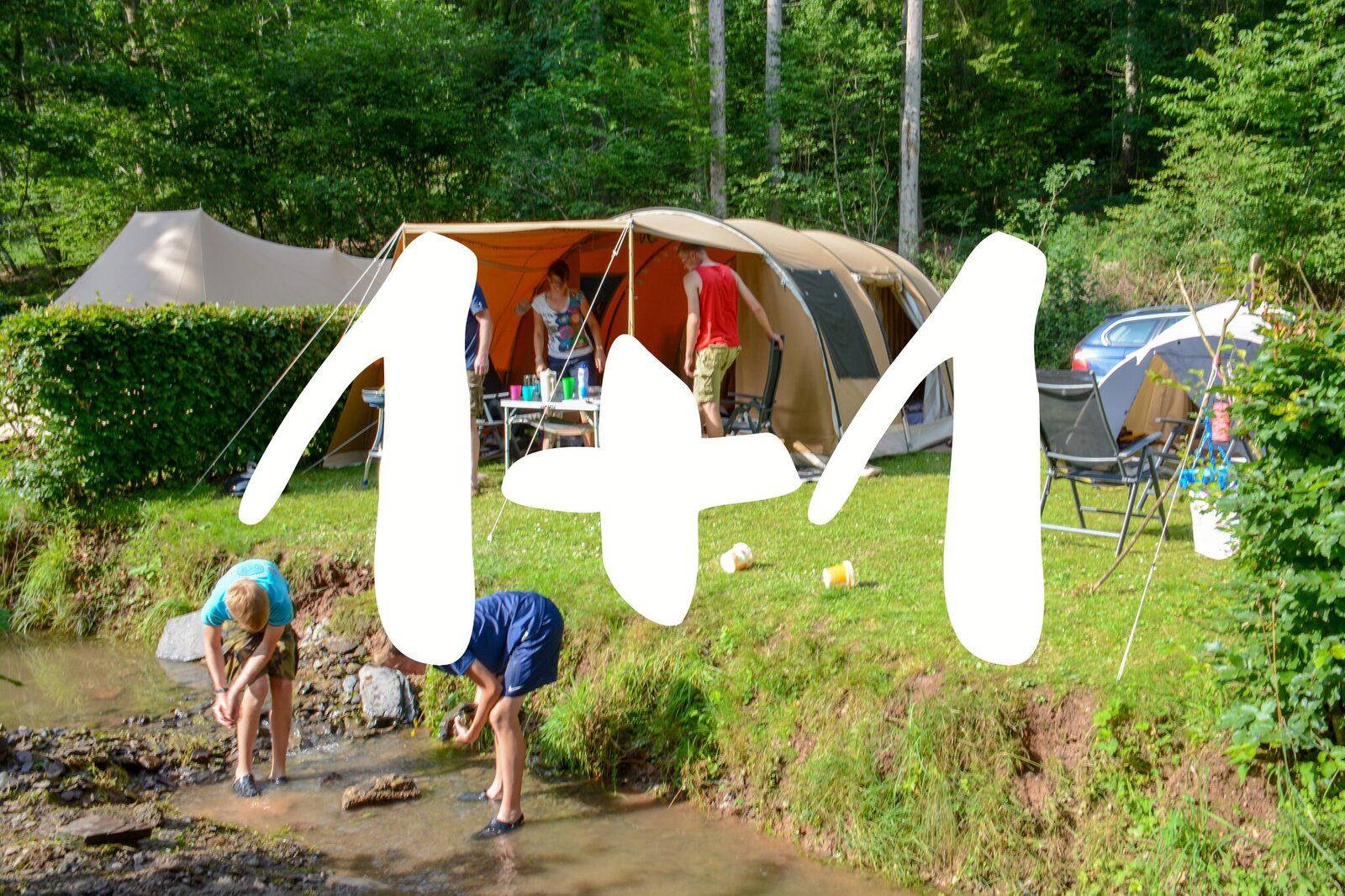 Walsdorf: 1+1 weeks camping