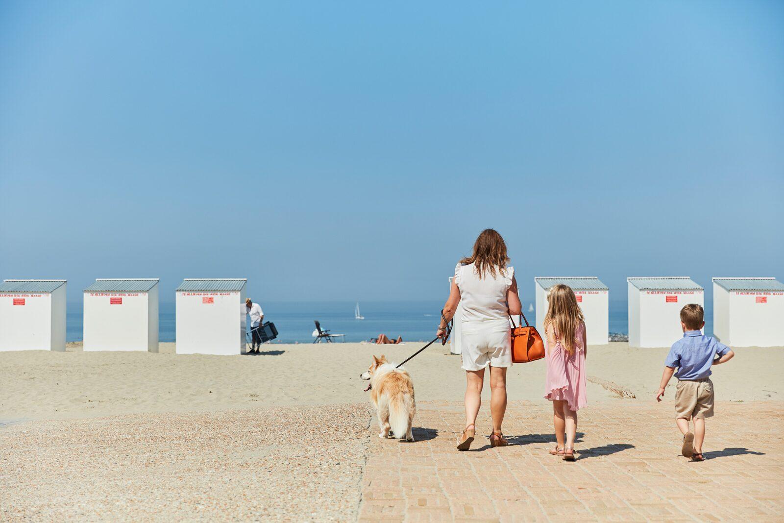 Vacances d'été sur la côte belge