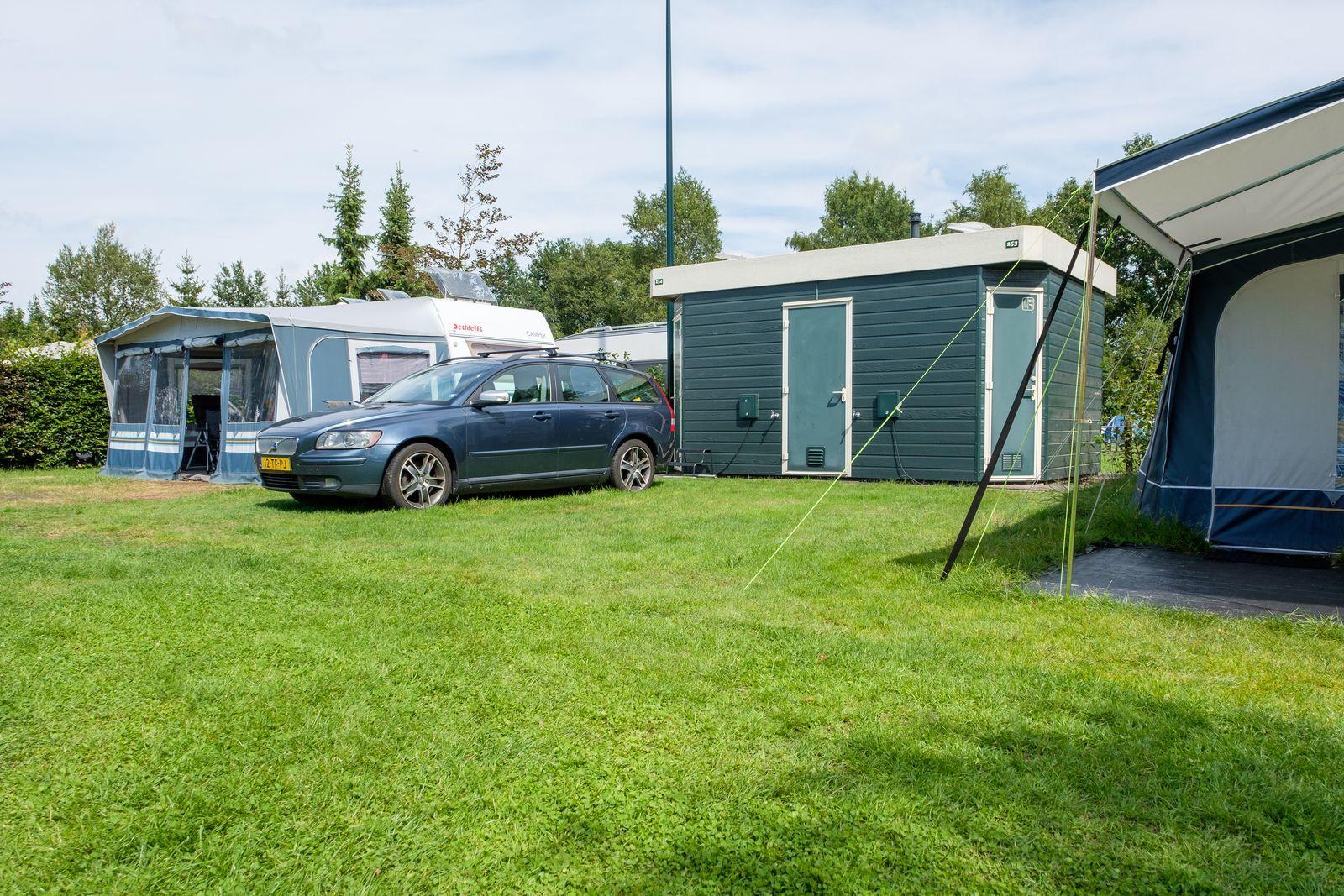 Comfortplus kampeerplaats