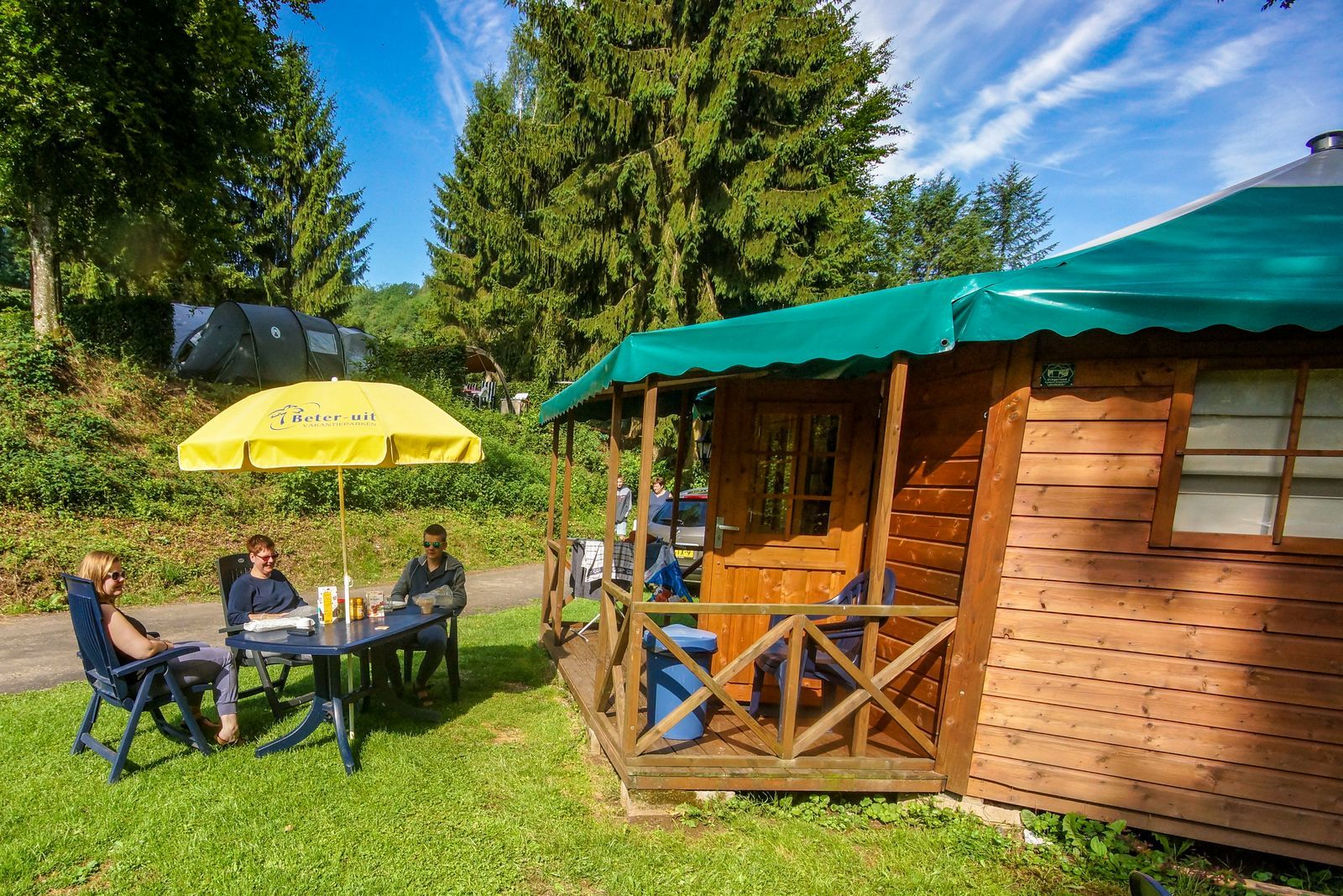 Camping chalet Tandel
