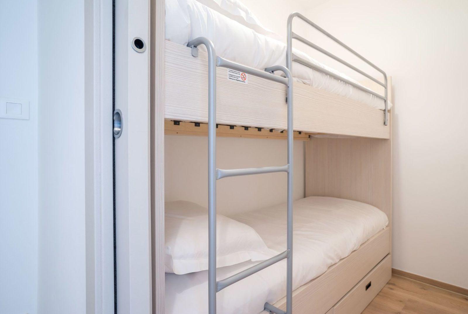Luxueus vakantieappartement voor 4 personen met slaapkamer en balkon