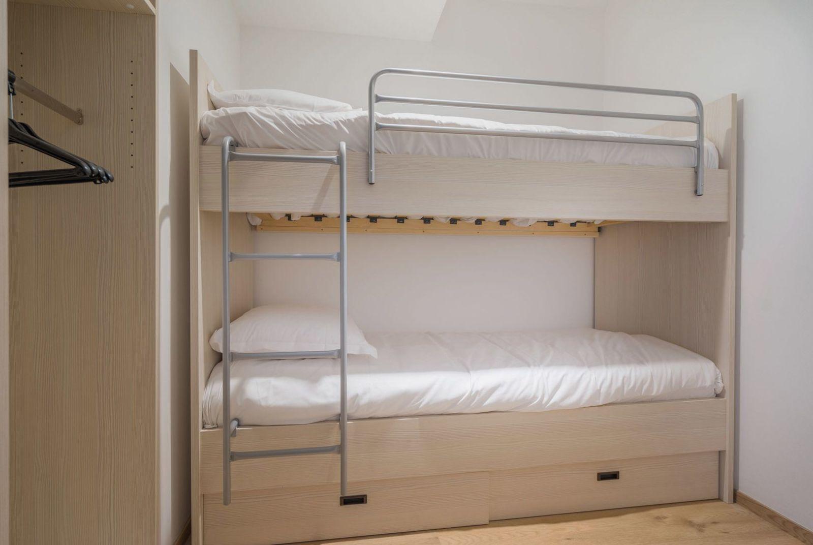 Appartement deluxe pour 4 personnes avec 2 chambres à coucher et balcon