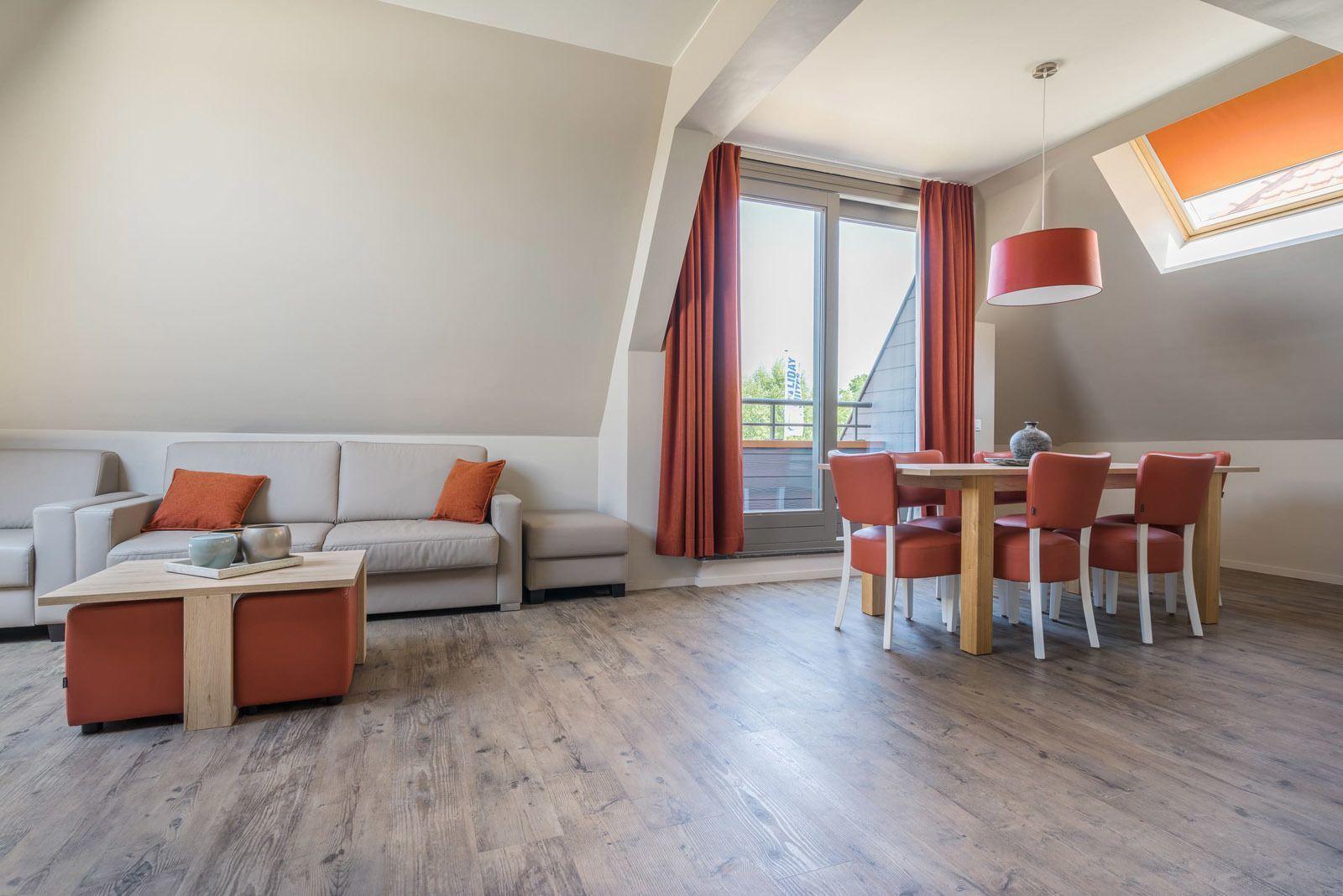 Comfort Suite - 6p | Slaapkamer - Slaaphoek - Zetelbed