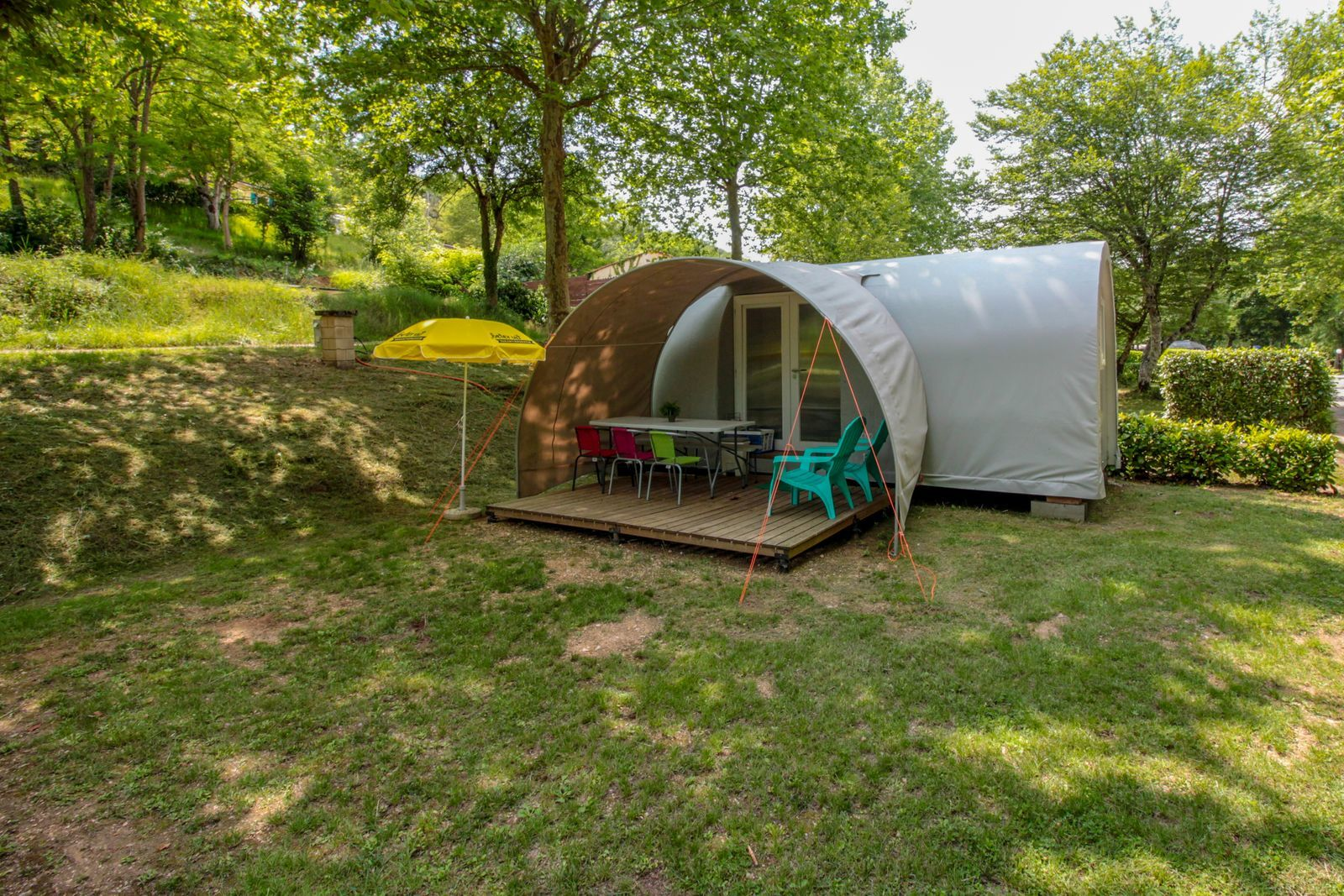 Glamping tent Le Petit Chateau