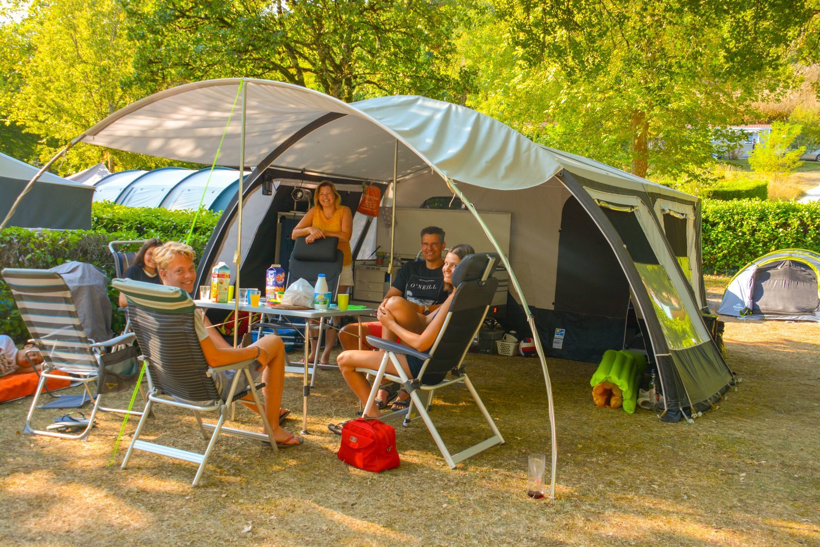 Camping pitch XL