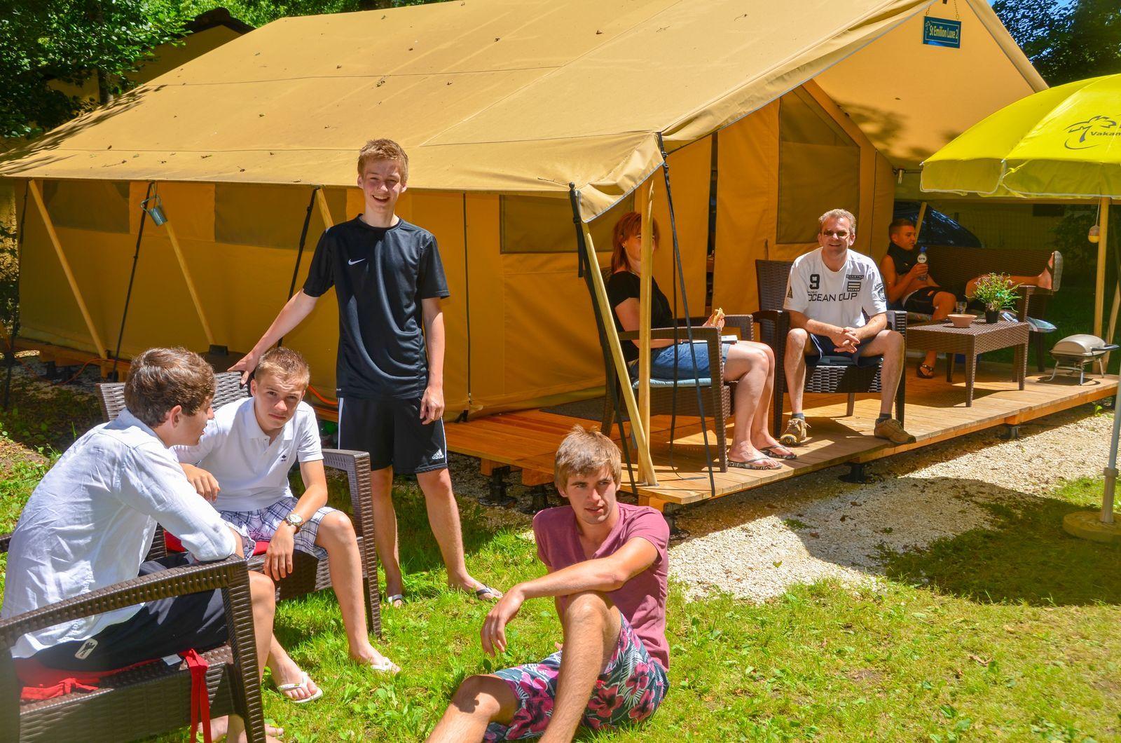 Lodge tent St Emilion DeLuxe