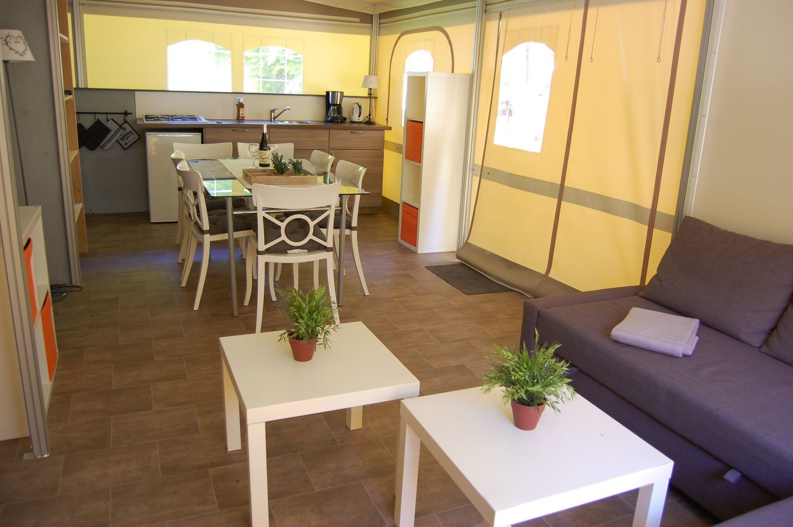 Glampingtent Cahors