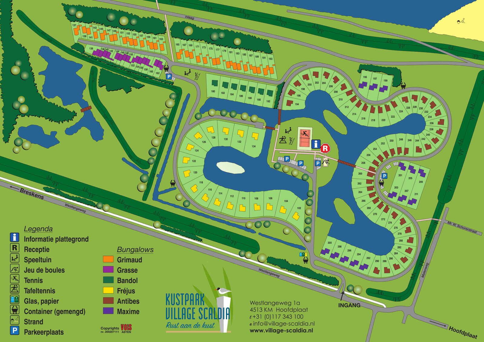 Antibes 256 - Kustpark Village Scaldia