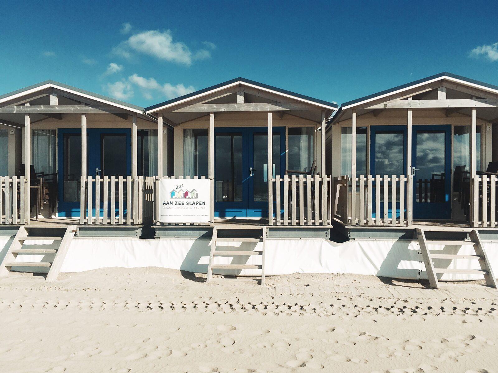 Strandhuisje zeezijde 6p