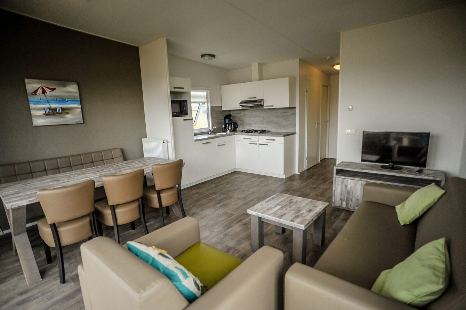 Comfort Lodge | 6 personen (50 M²)