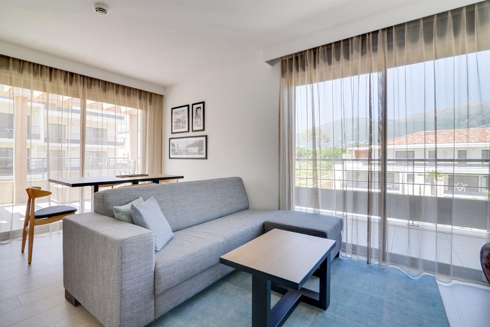 Penthouse pour 4 personnes avec 2 lits doubles
