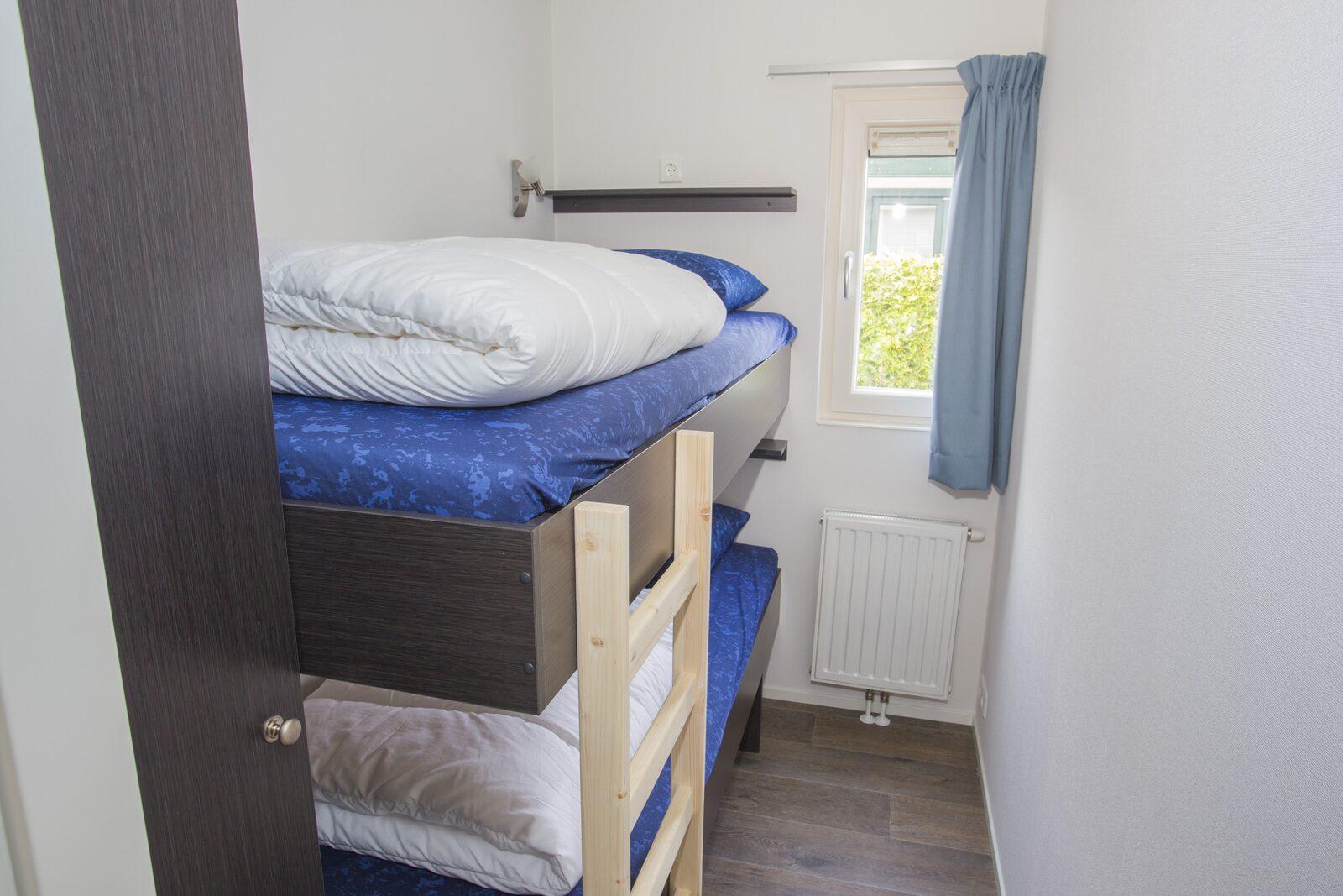 IJsvogel: 8-persoons accommodatie, 4 slaapkamers