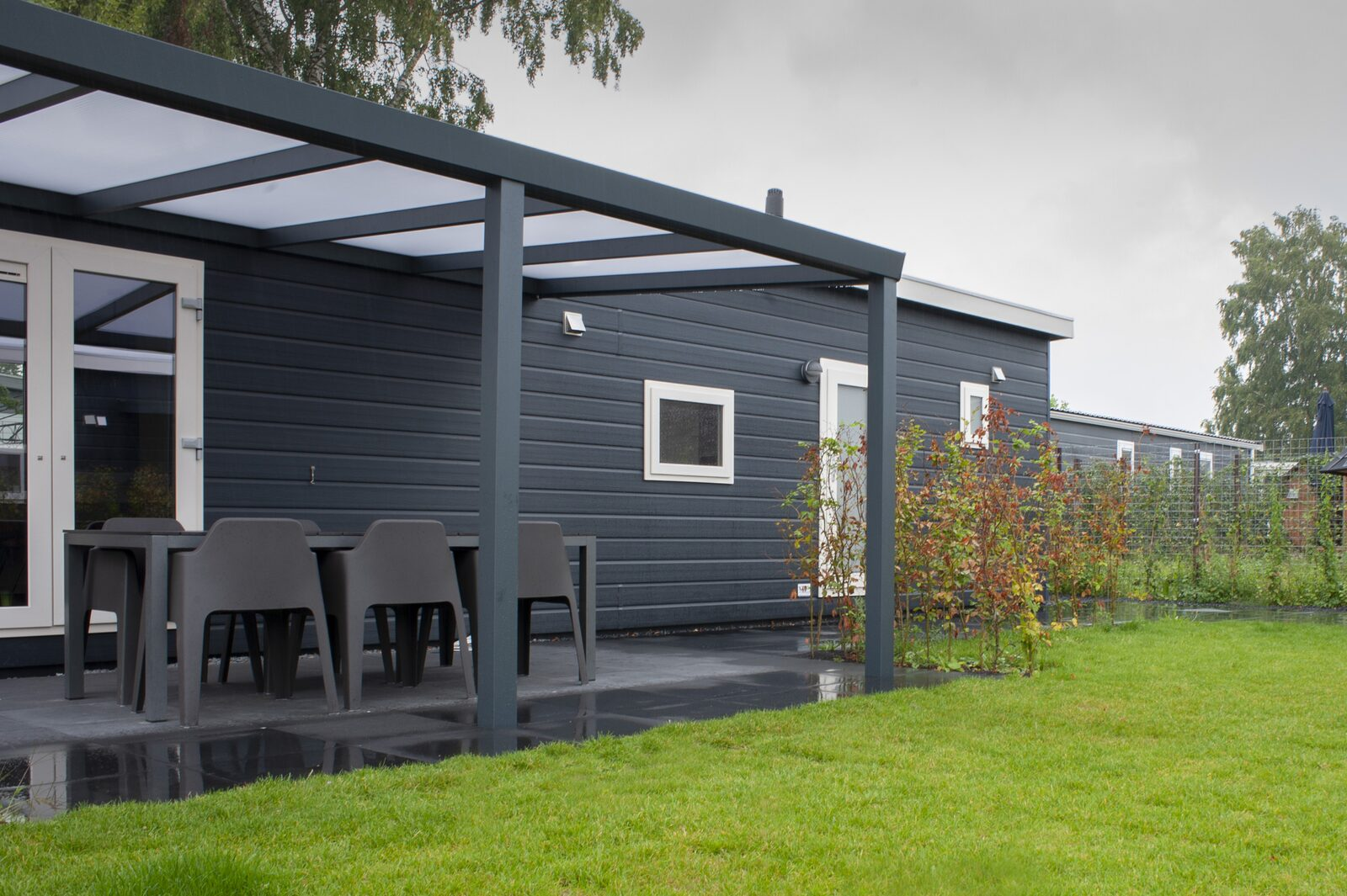 6 + 6 persoons Veluwelodge XL met grillhuis