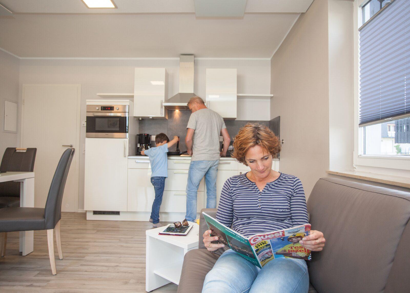Groepsaccommodatie (6 appartementen) voor 20 personen