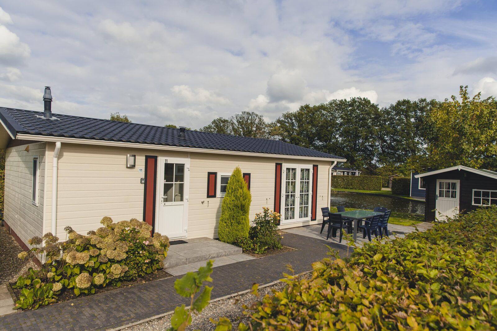 6-Personen-Chalet Twente, 3 Schlafzimmer
