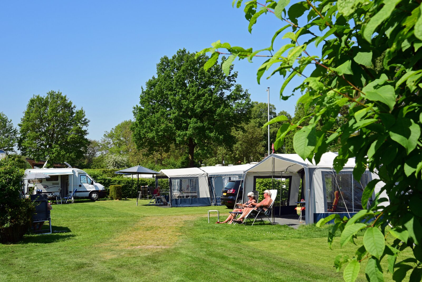 Basic camping spot