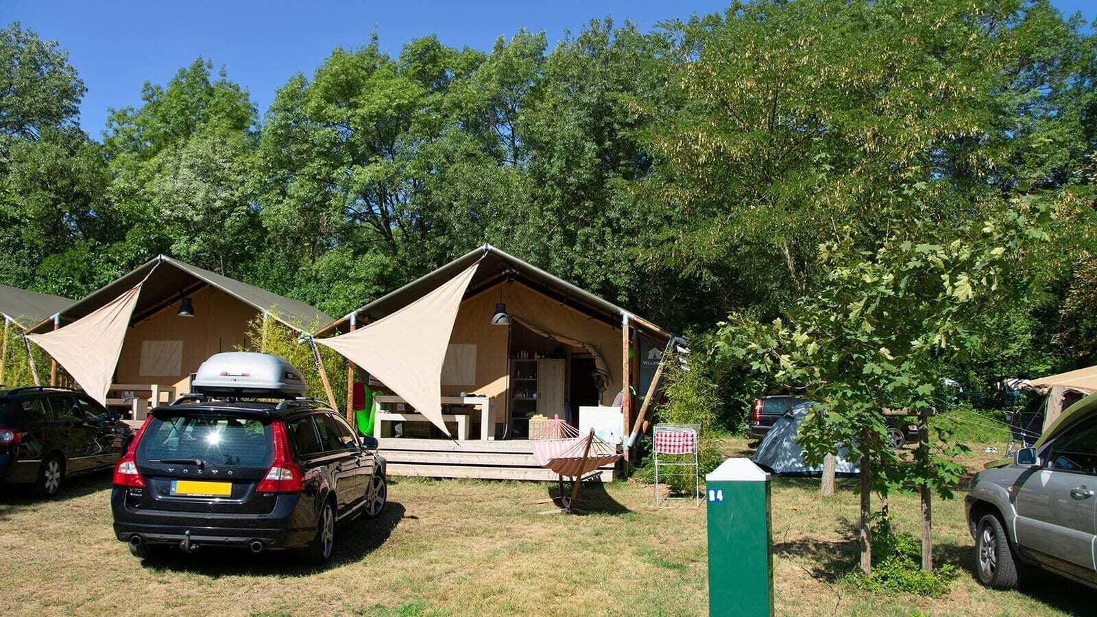 Ardèche camping | Luxe 5 Pers.