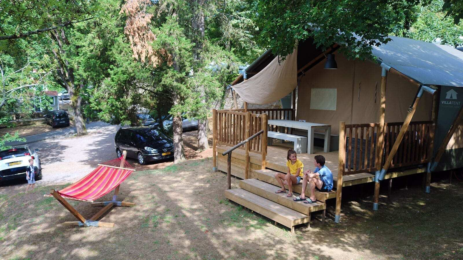 Camping Colleverde | Villatent Luxe | 5 pers.