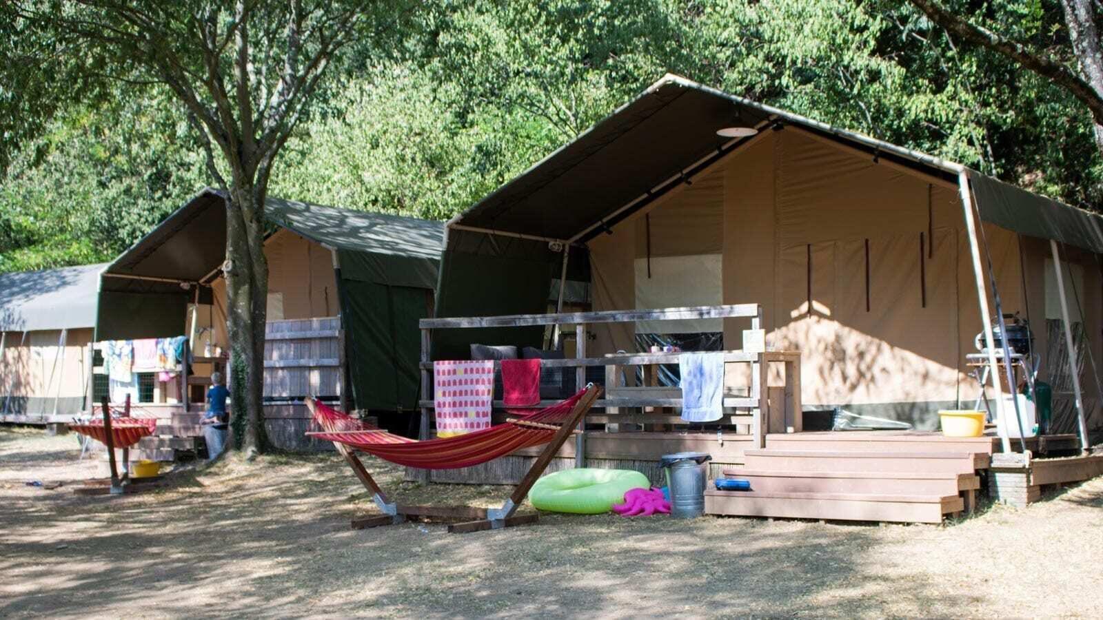 La Garenne | Villatent XL met sanitair | 4 tot 6 pers.