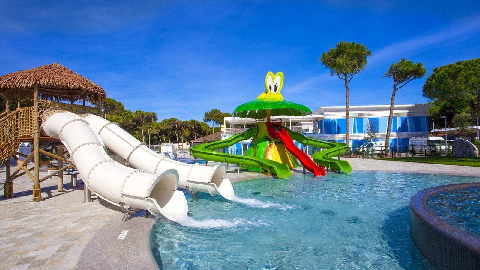 Camping Village Cavallino | Luxe Sanitair 5 Pers.