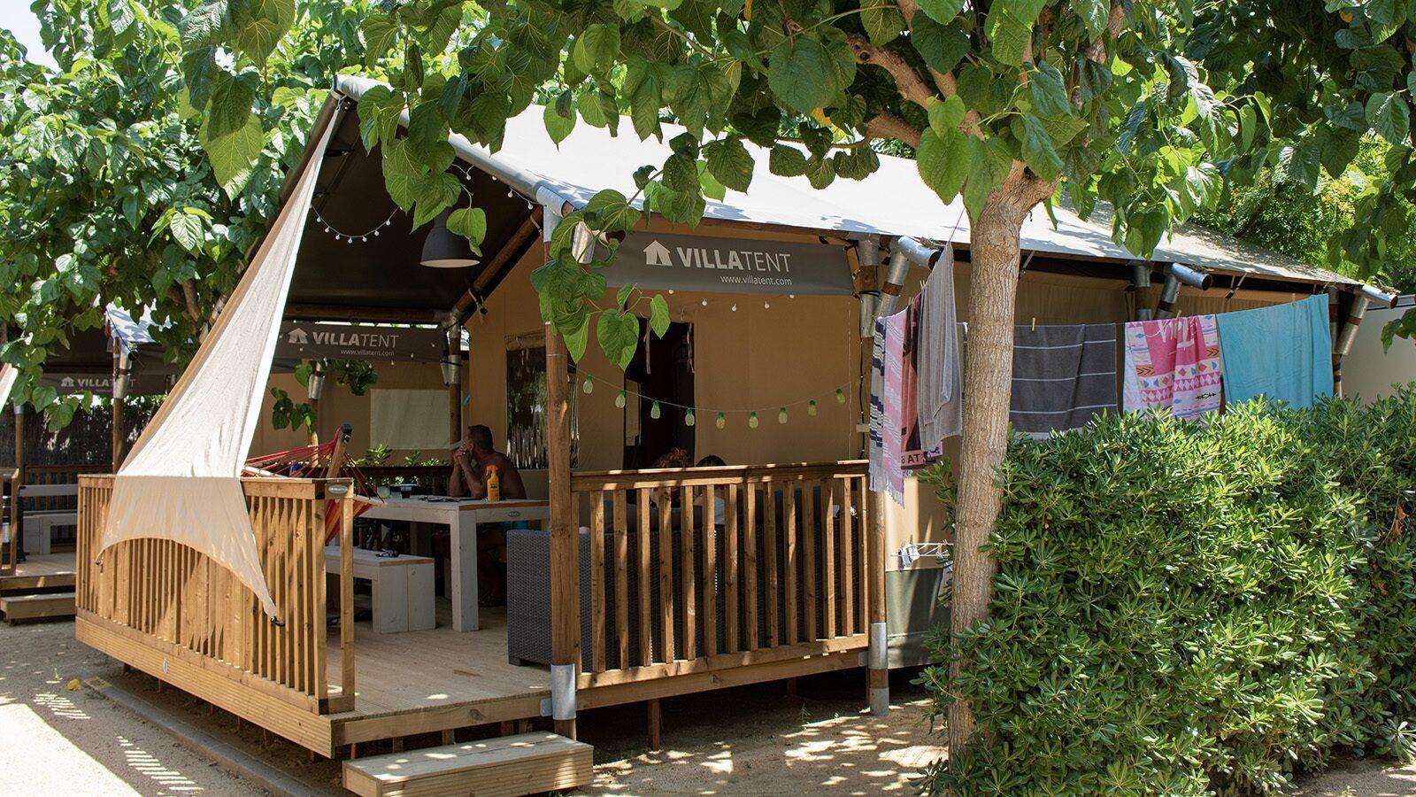La Masia | Villatent Luxe met sanitair | 5 pers.