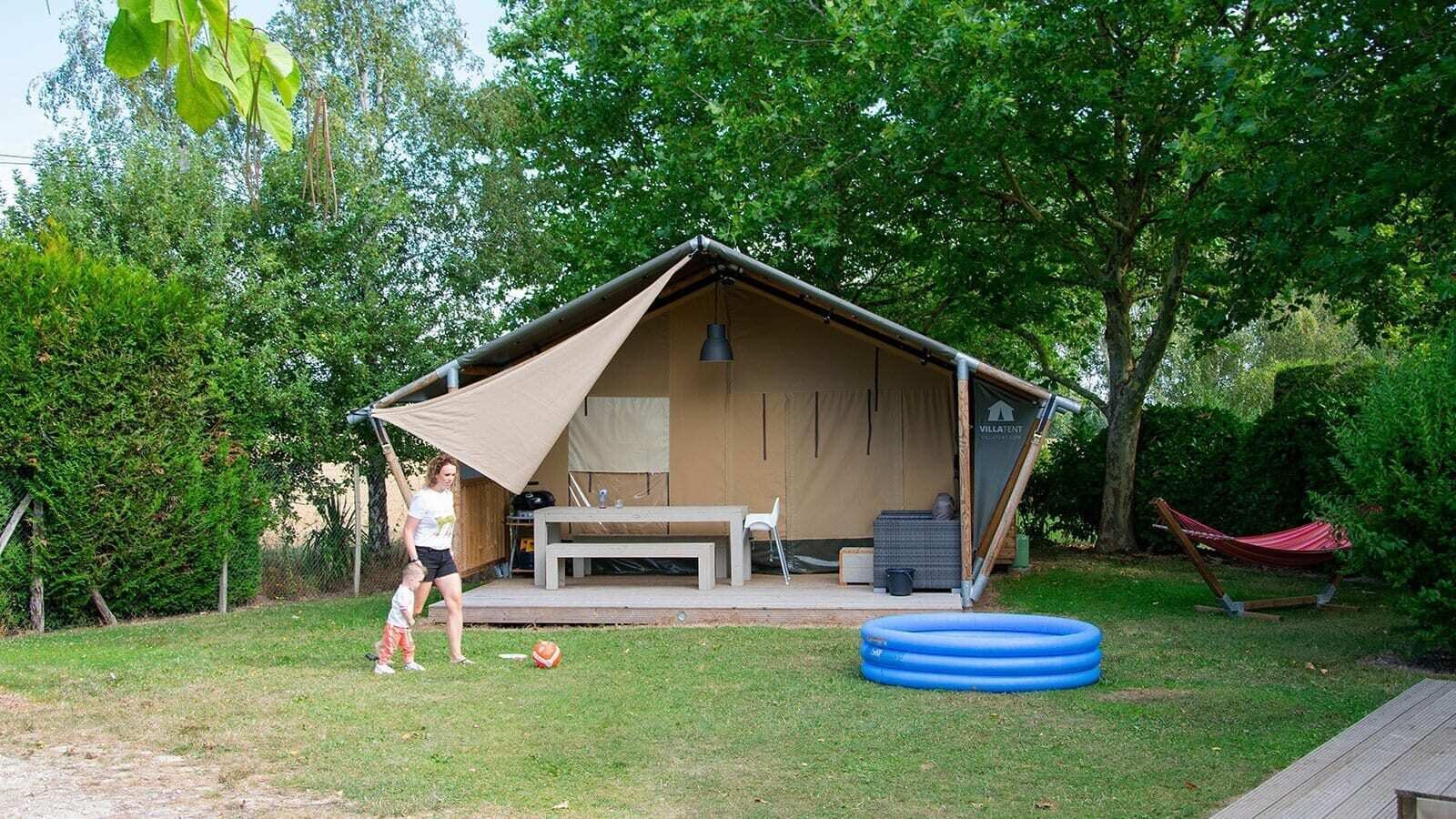 Les Bois du Bardelet | Luxe avec sanitaires XL 6 pers.