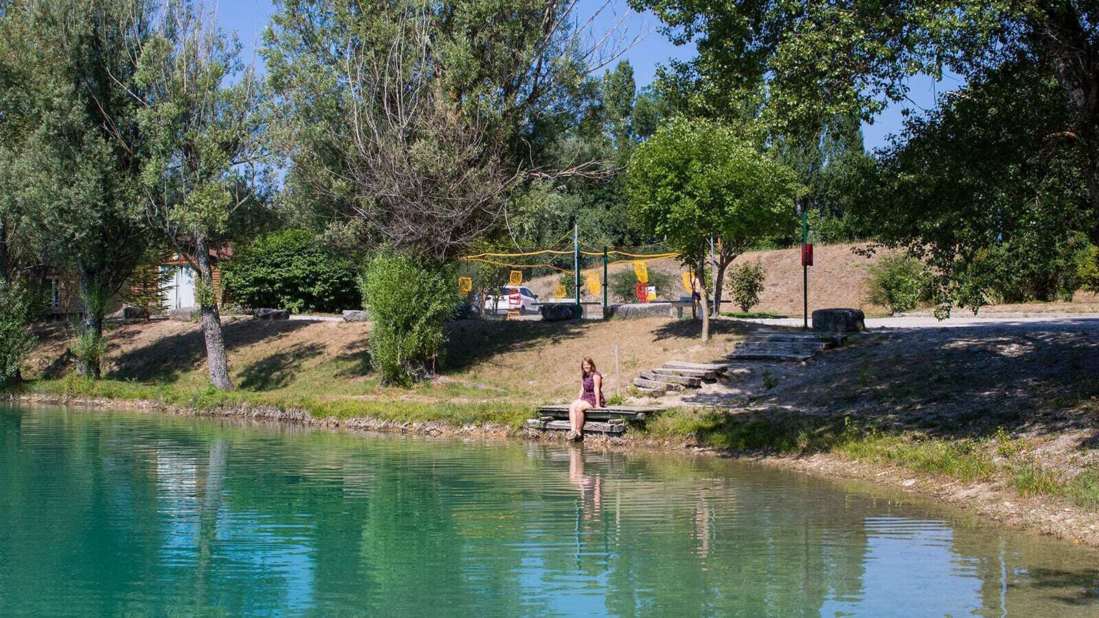 Le Lac Bleu | Luxe avec sanitaires XL 6 pers.