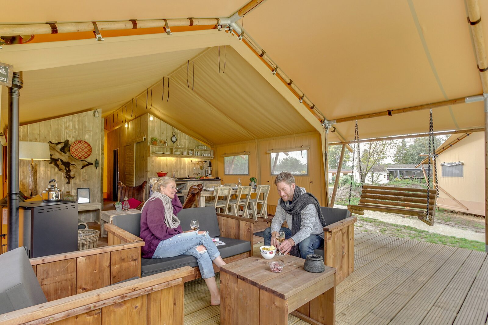 13. Luxuriöse Wald Lodge 6 Personen