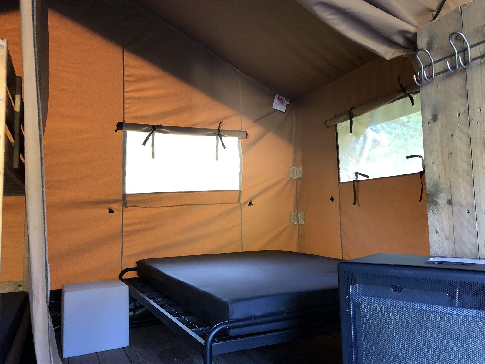 Safari tent La Rochette