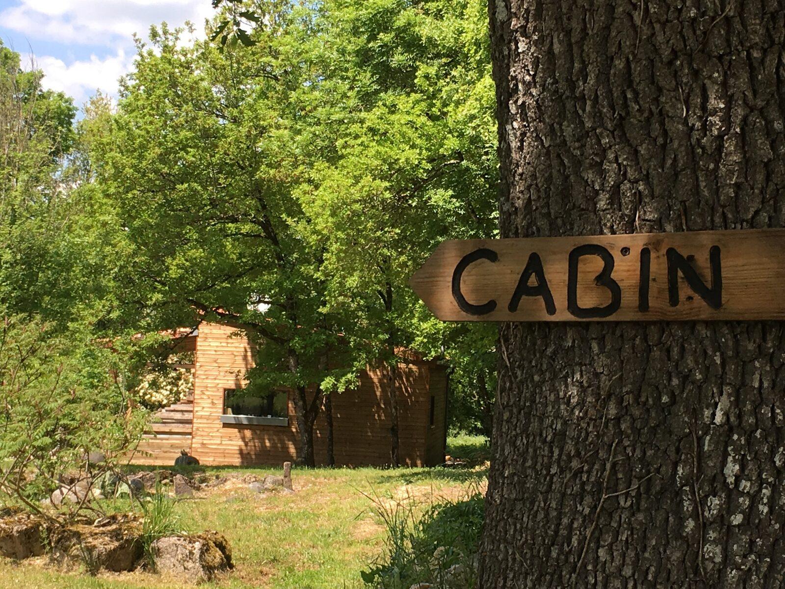 Domaine Pippa - houten cabin