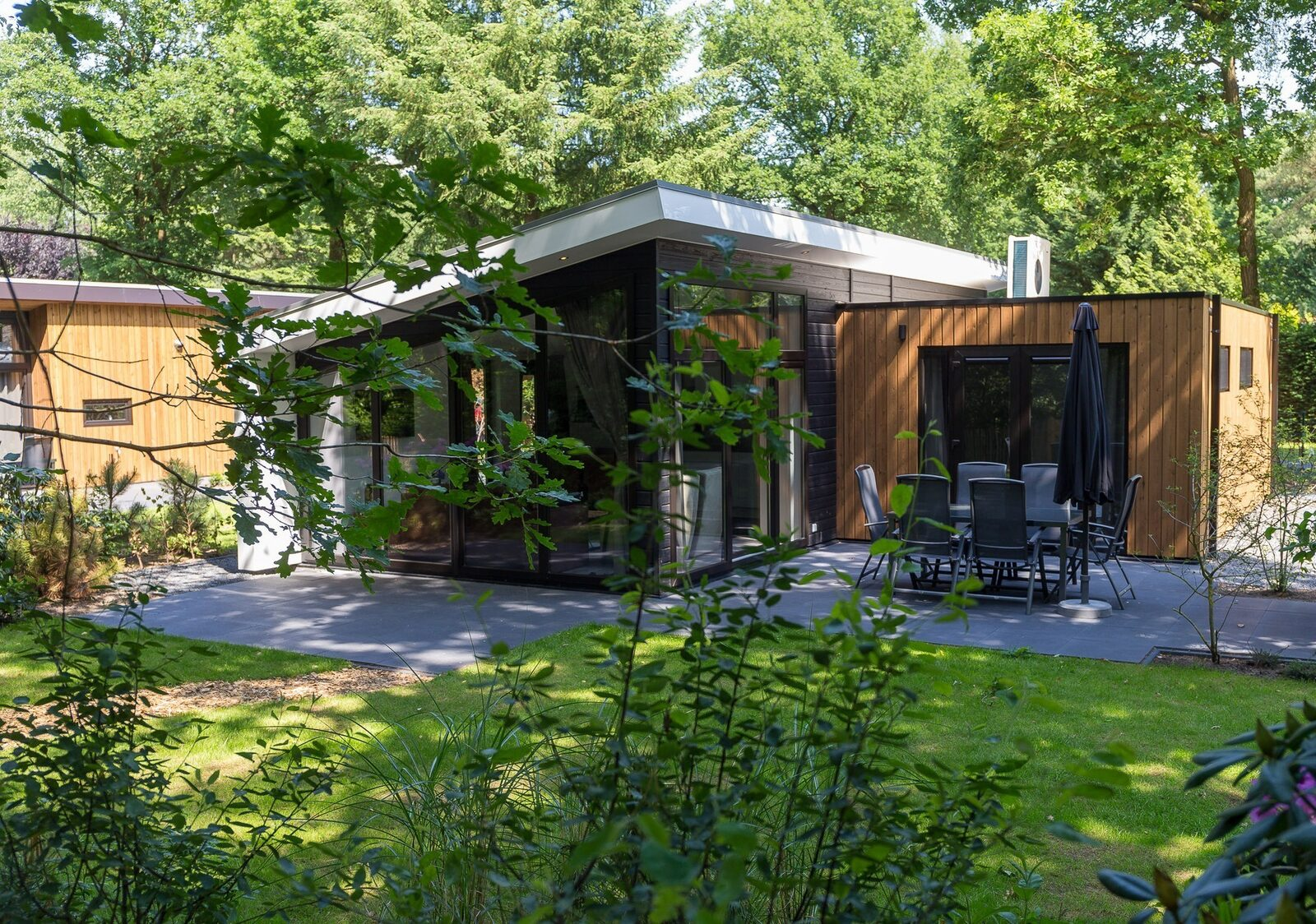 Bos Lodge 75 Eco 6 personen ( Wellness )