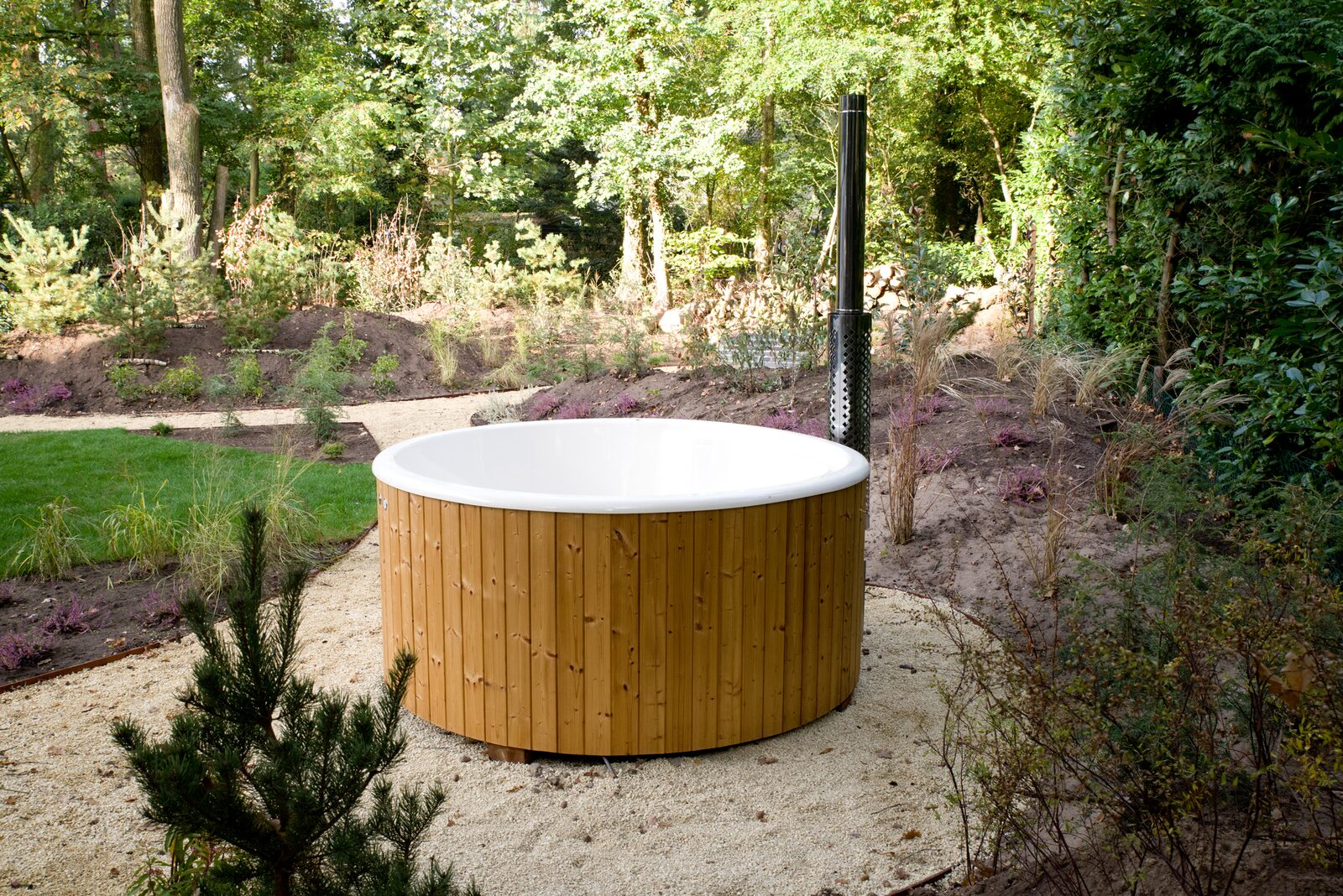 Use of Hot Tub Forest Lodge 55 4 persons