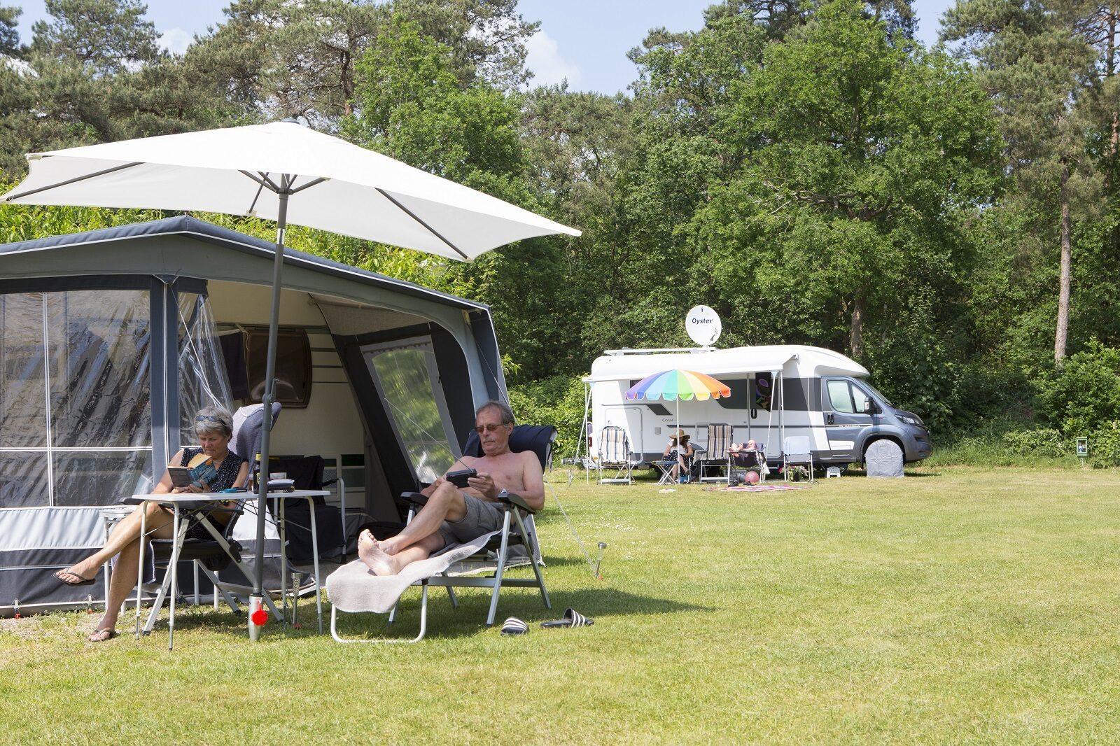 Comfortplaats XL - Met auto of camper