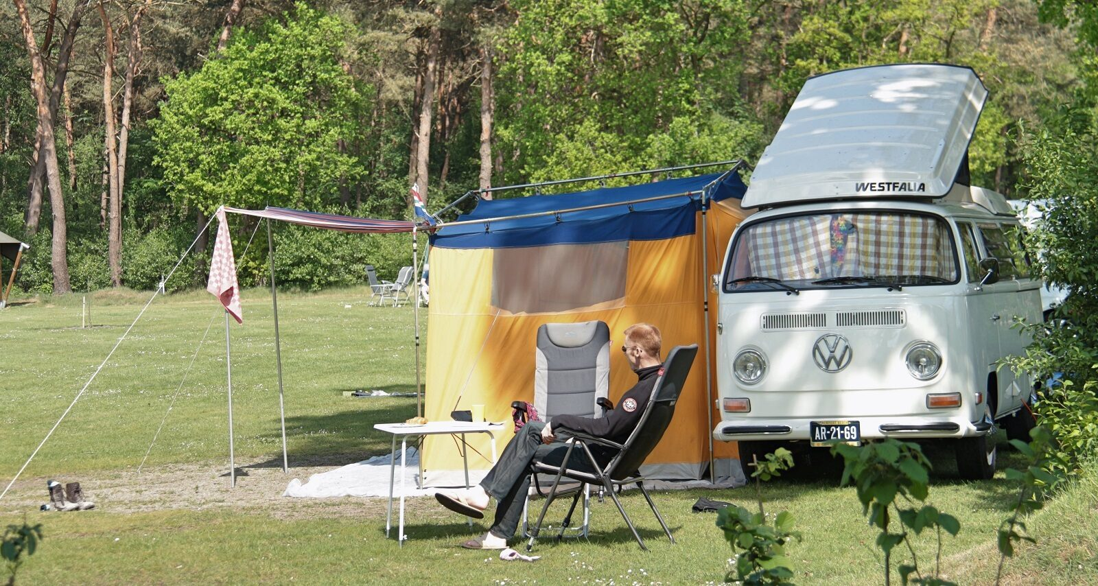 Campercomfortplaats