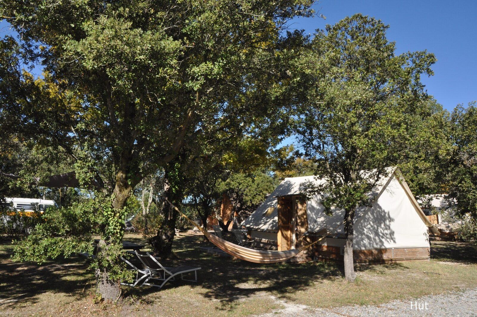 Lodges in de Provence - Hut: houten hut met tentdak