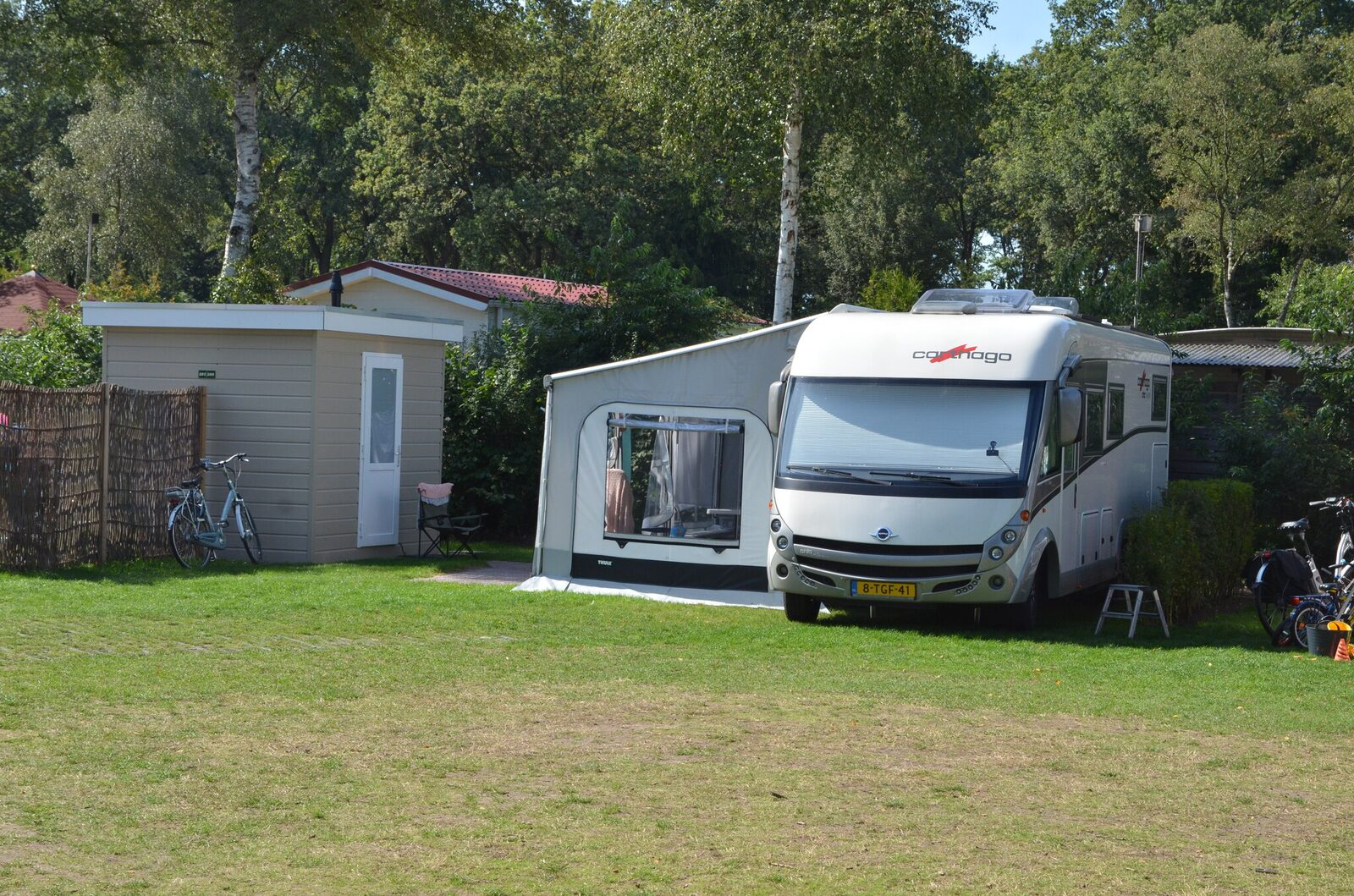 Luxe camperplaats