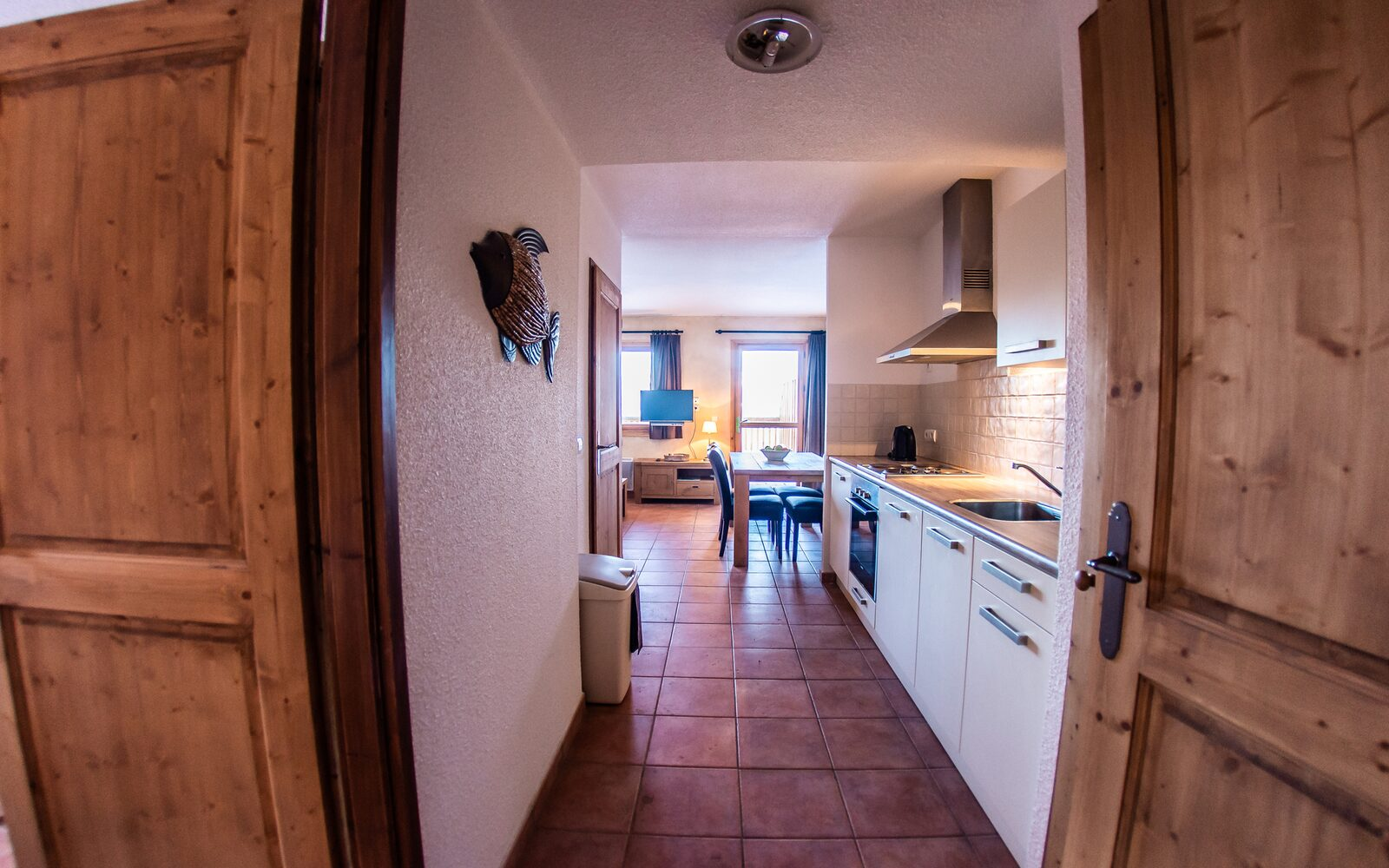 Two-room apartment + vide for six persons