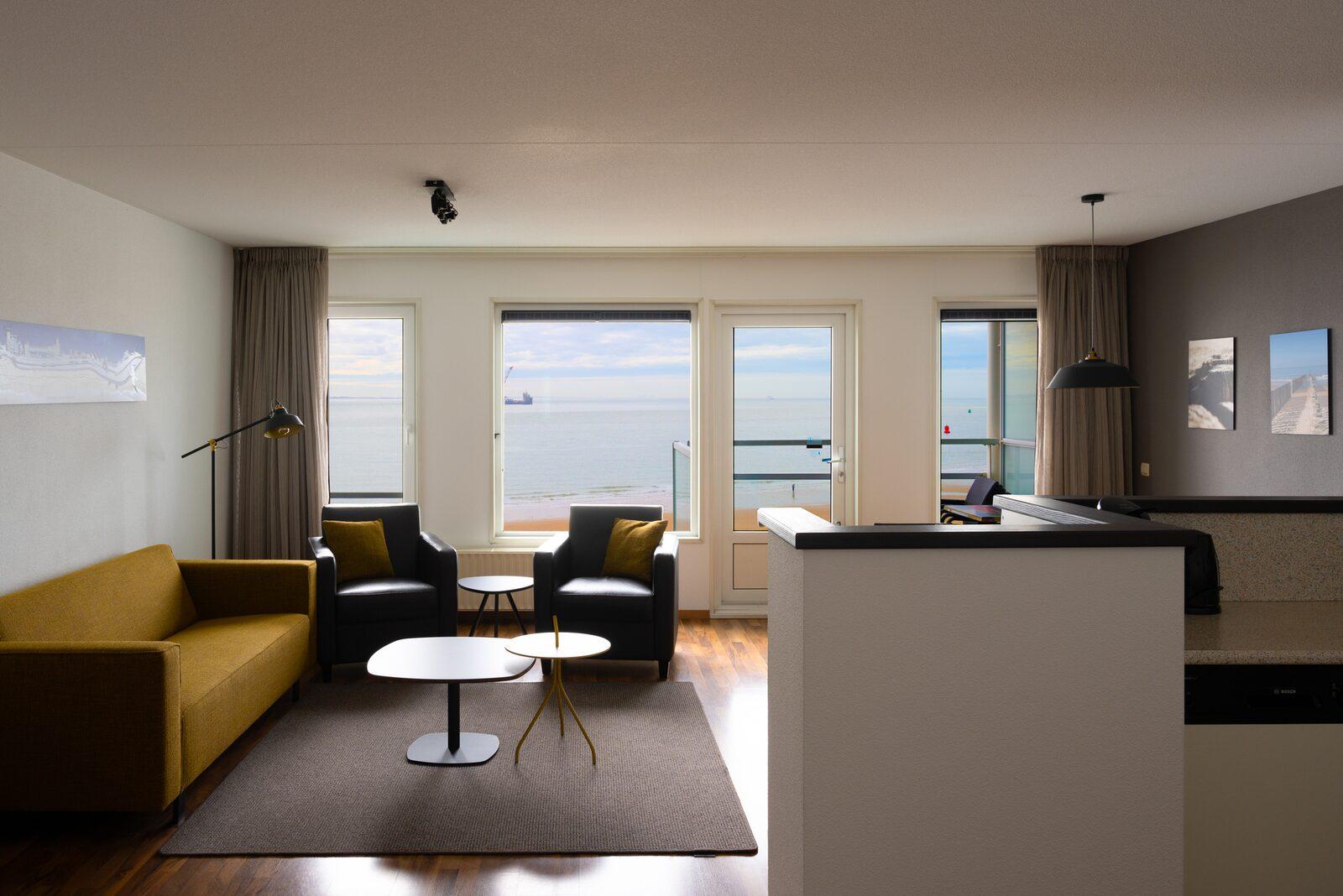 3-Zimmer Ecke Apartement mit Meerblick