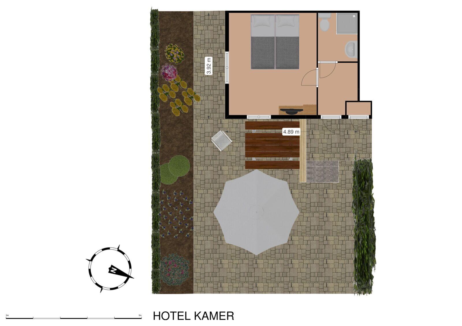 """Chambre d'hôtel """"Terra Mare"""""""