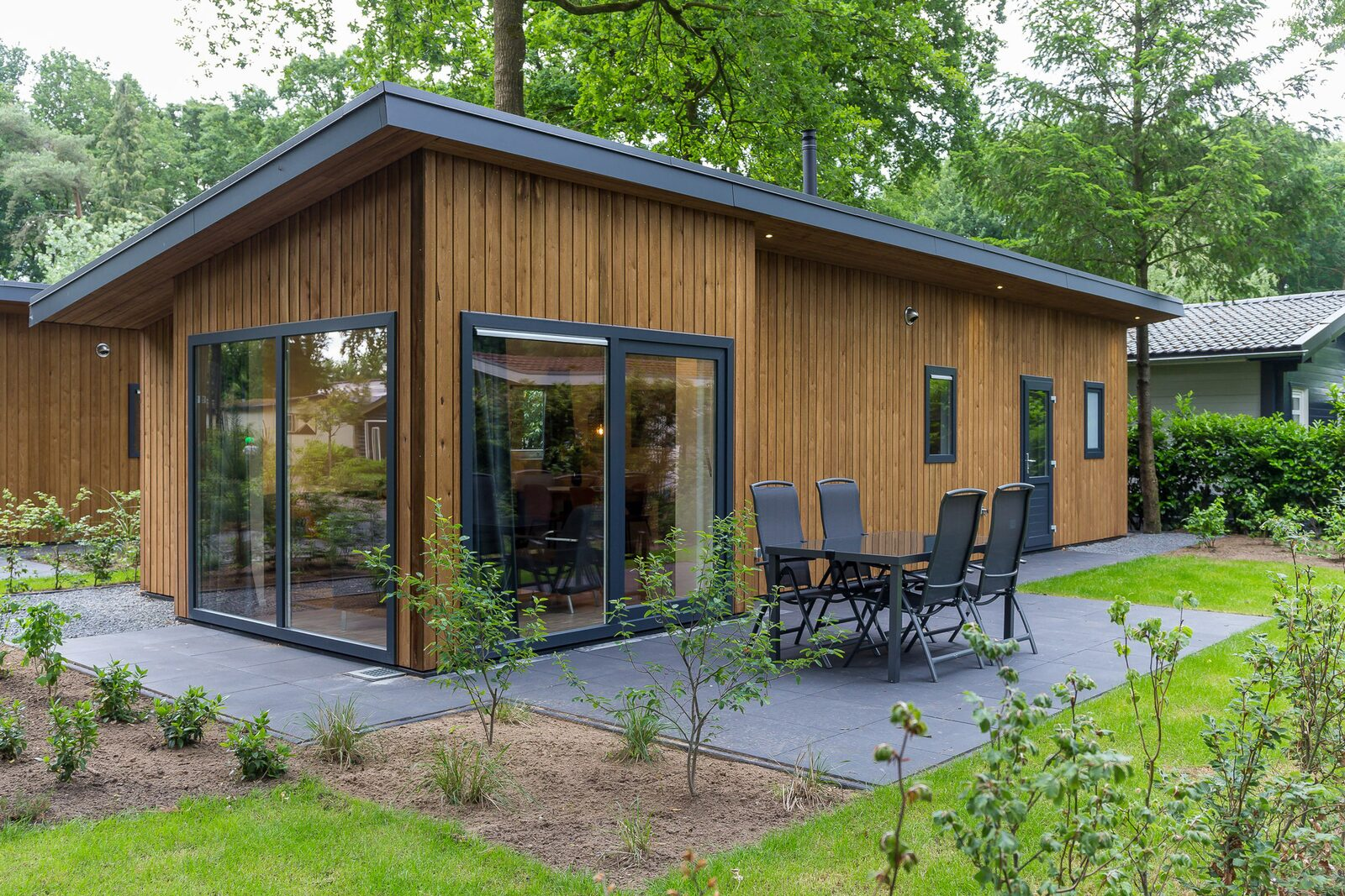 Wood Lodge Eco 6 personen ( Wellness )