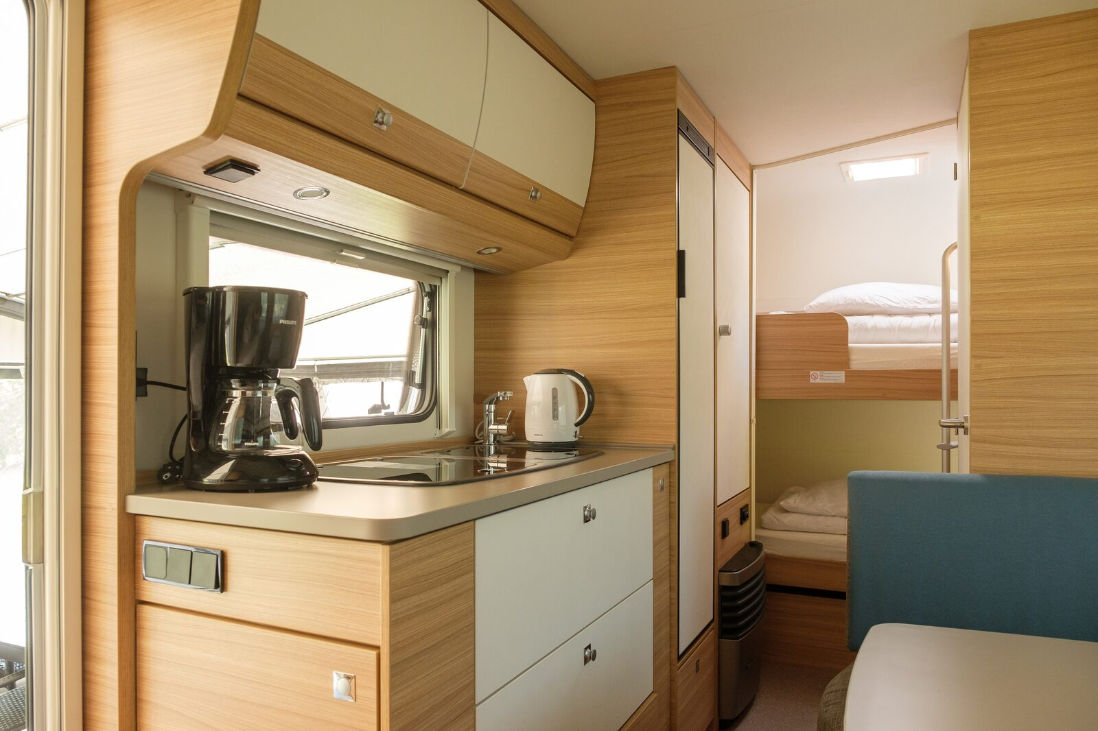 Caravan for 4 people
