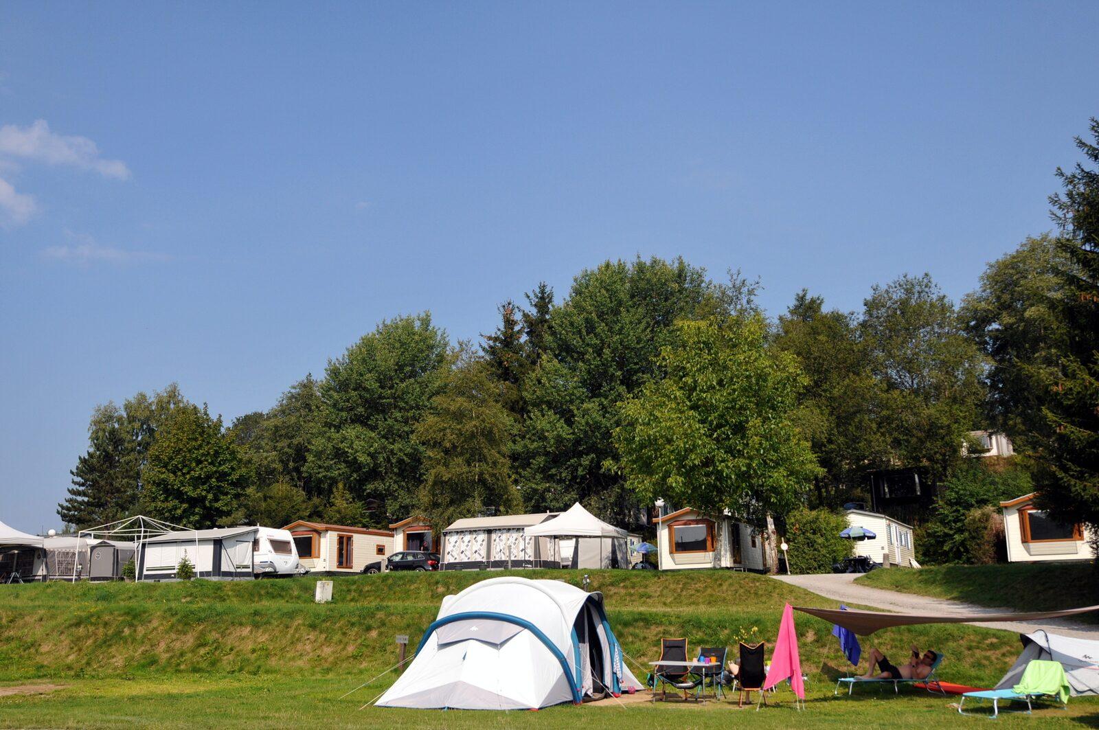 Winterplaats kamperen
