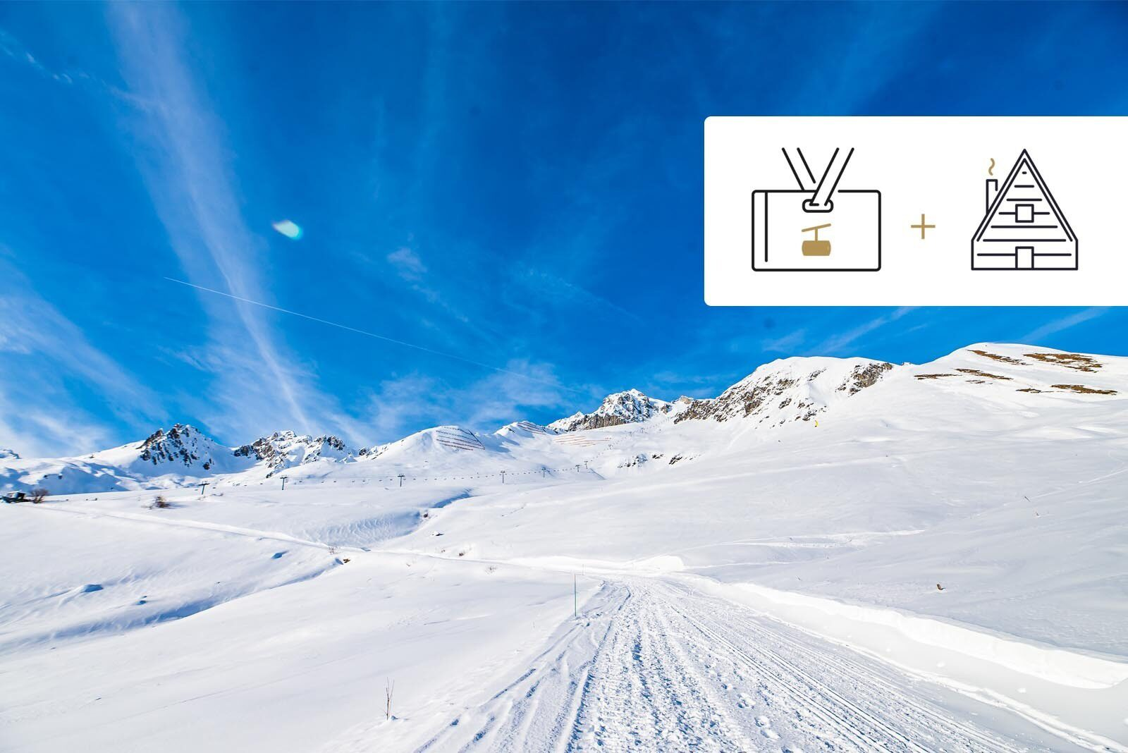 Ski passes 6 days off-season + early booking discount!