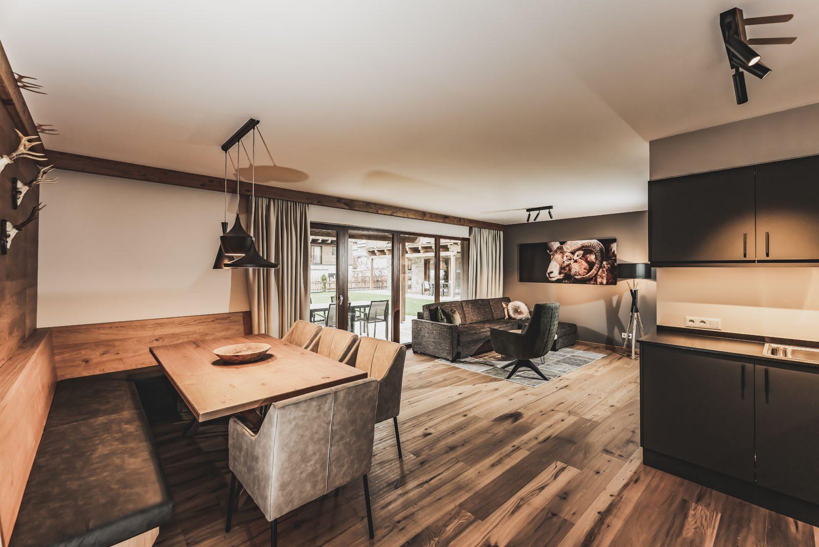 Garten Appartement | 4-6 Pers.