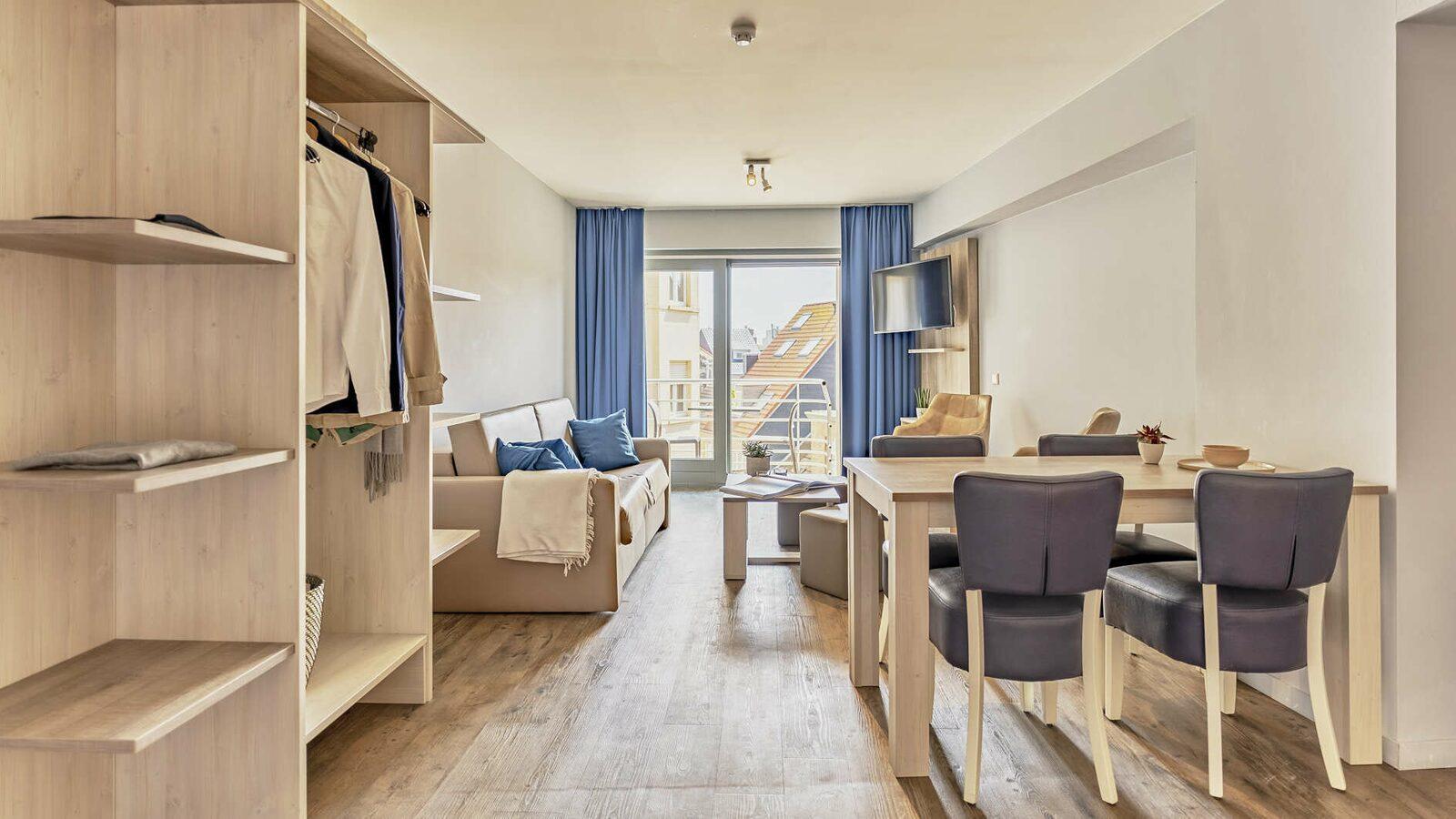 Suite - 4p | Balkon | Stadszicht