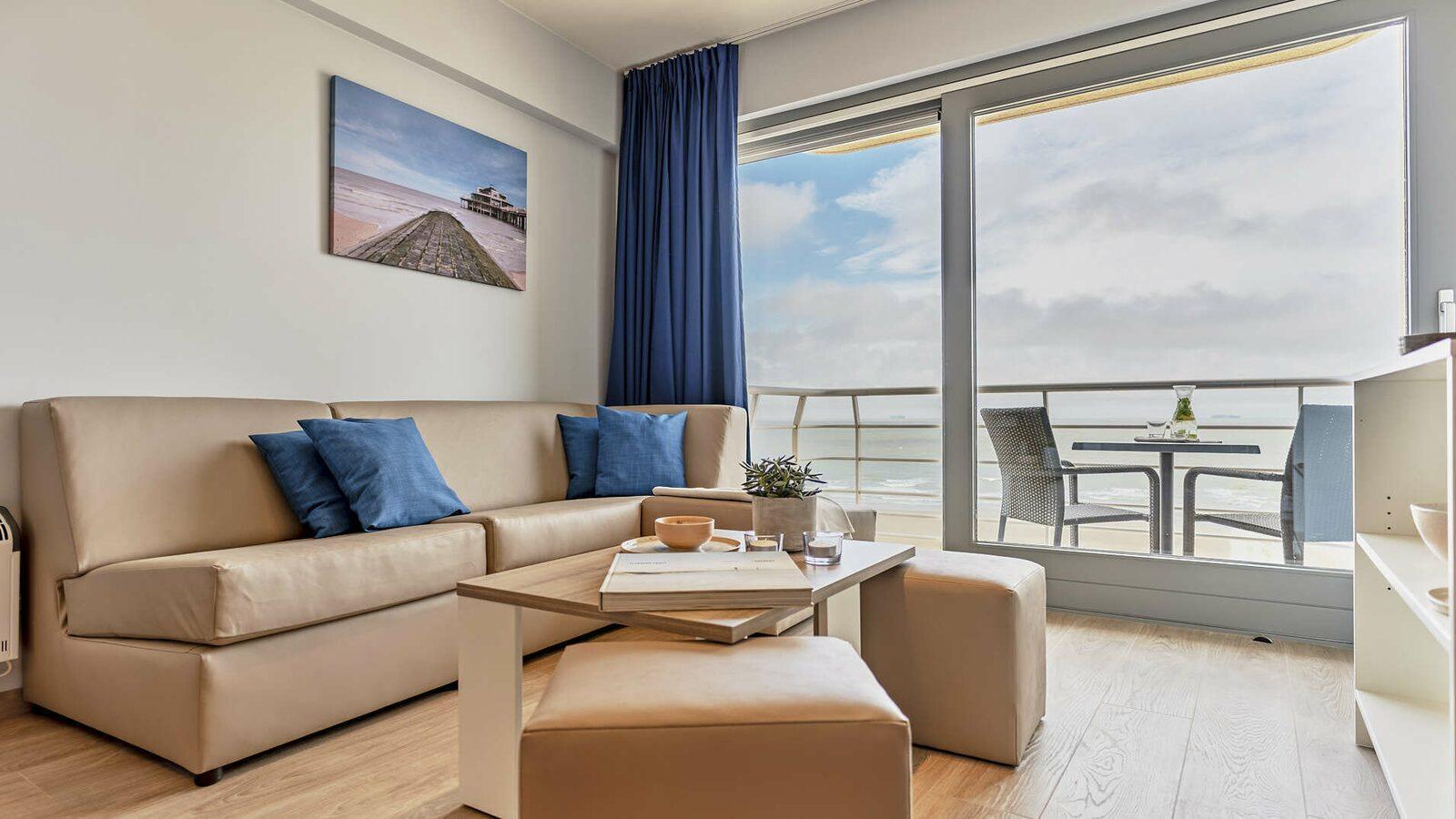 Suite -  4p | Balkon | Zeezicht