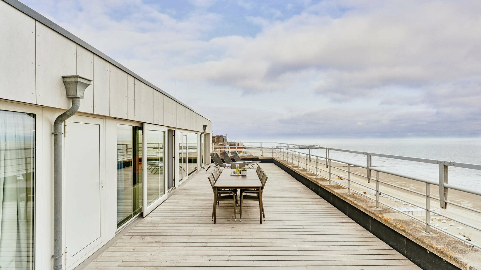 Penthouse - 10p | Rooftop terrace | Sea view