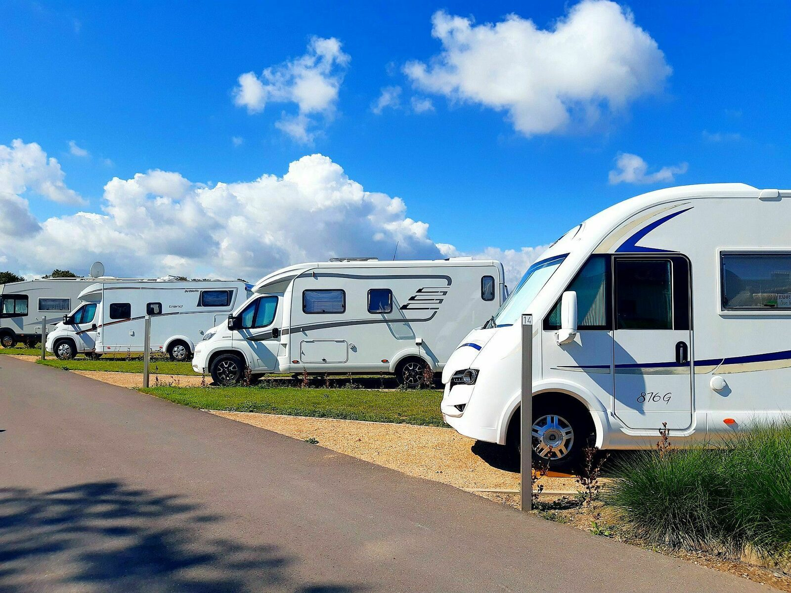 Motorhome pitch - 70m²