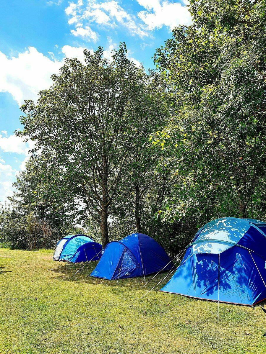 Champ de tentes