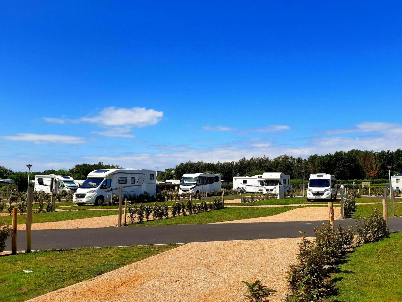 Motorhome pitch (new !) - 70m²